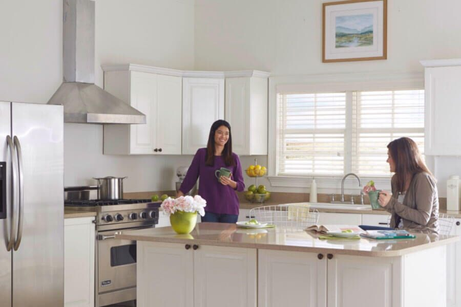 Kitchen Window Treatment Ideas Americanblinds Com